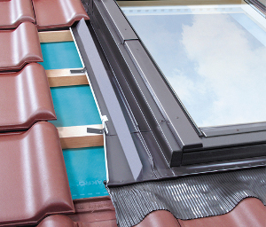 Flashing for Tiled Coverings EZN-A, EZV-A, EZV-A XDP