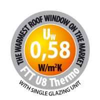 Extra hőszigetelő billenő ablakok